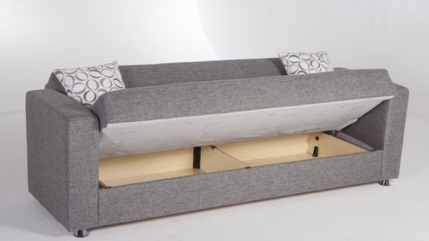 Get the best in contemporary fold out couch with storage for