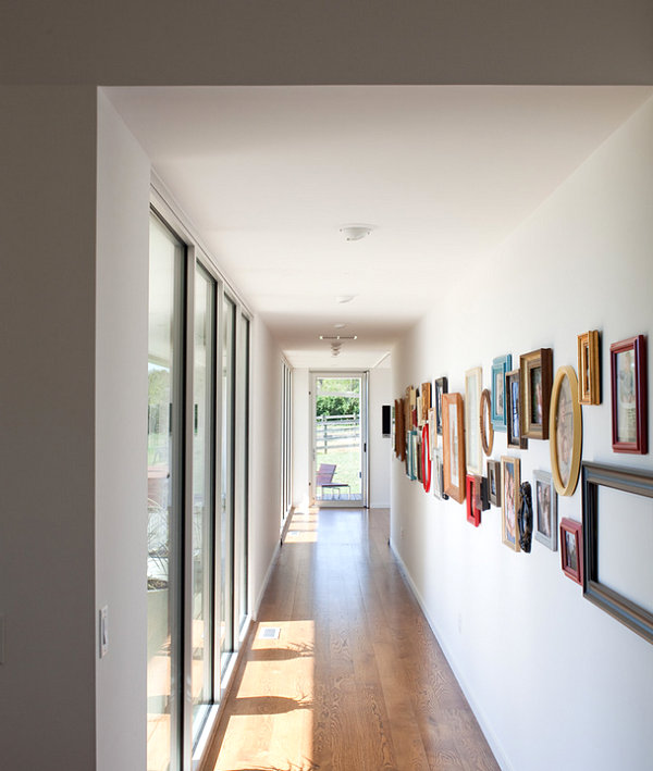 Modern Home Hallways | Modern Minimalist Home Design