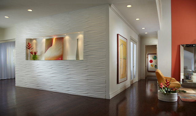 Contemporary Home Interior Design Hall