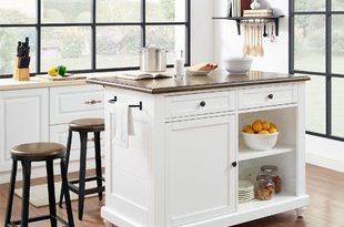 Kitchen Island With 4 Stools | Wayfair