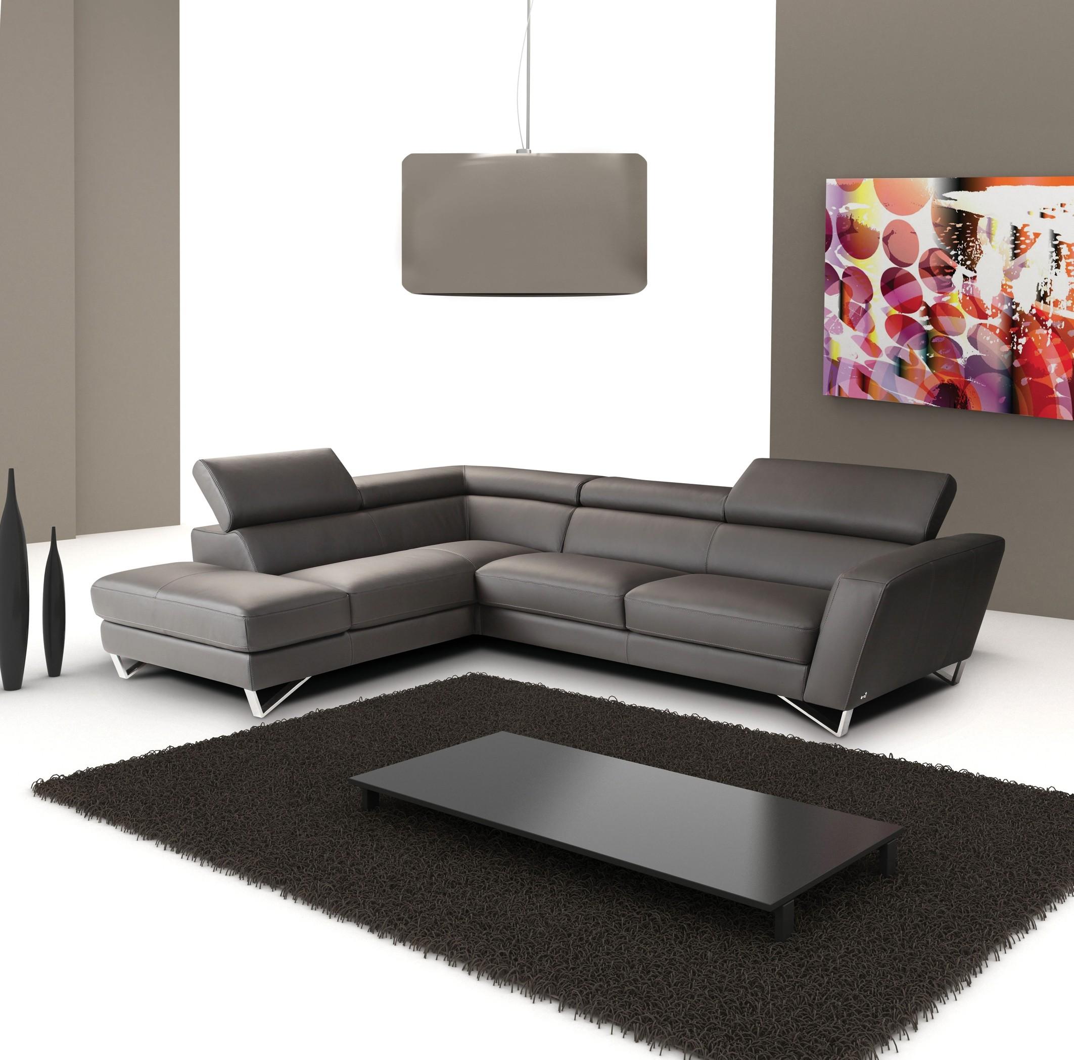 CADO Modern Furniture - SPARTA Italian Leather Modern Sectional Sofa