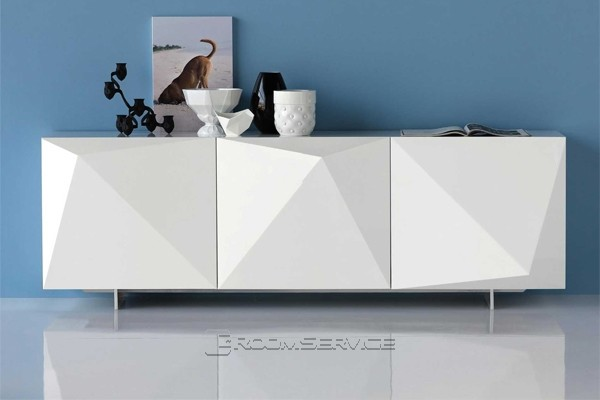 Kayak Modern Sideboard Buffet - Contemporary - Dining Room