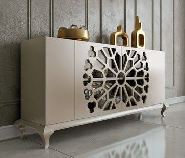 15 Awesome Dining Room Buffet Designs | 玄关 | Sideboard decor