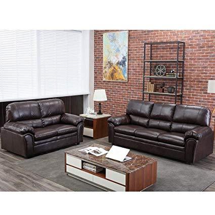 Amazon.com: BestMassage Sofa Sectional Sofa Sofa Set Leather