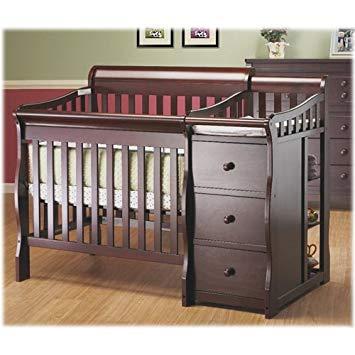 Amazon.com : Sorelle Newport Mini Convertible Crib and Changer