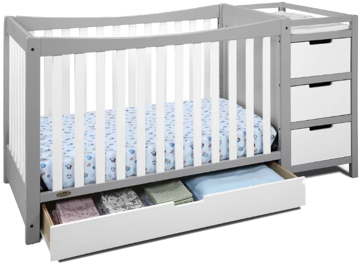 Best 5 Convertible Cribs with changing table in 2019 & Reviews