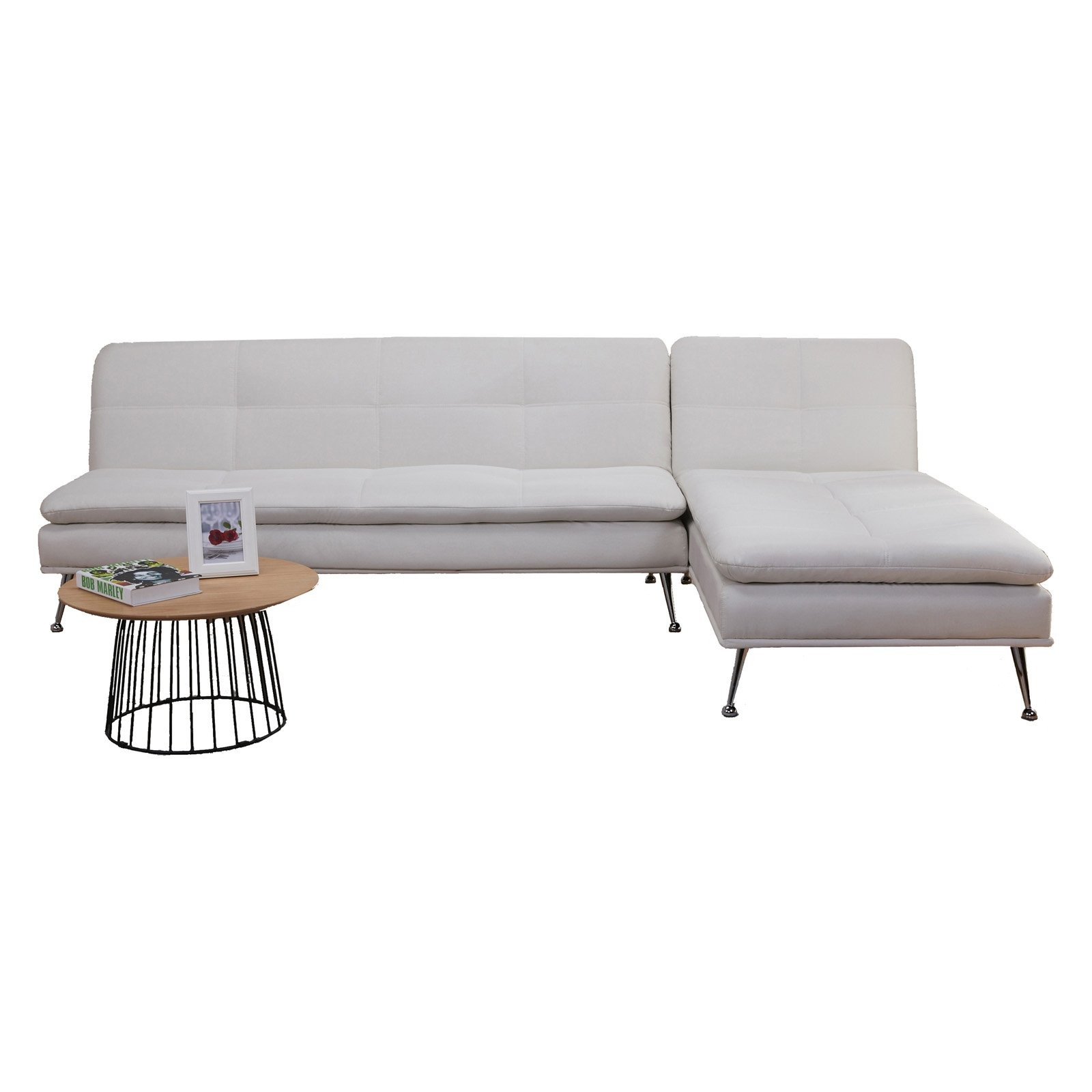 Gold Sparrow Palmdale Convertible Sectional Sofa Bed - Walmart.com