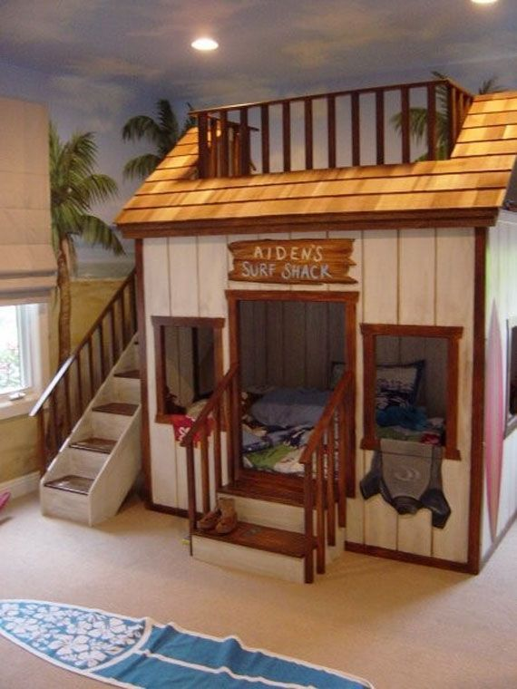 cool bunk bed Ideas Rustic home theme | Bunk Room in 2019 | Bunk bed