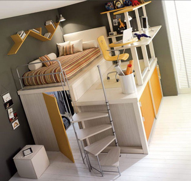 Cool Beds Cool And Fun Loft Beds For Kids - Zauber