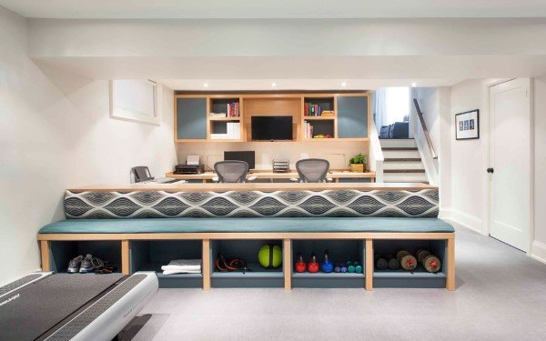 Top 50 Best Built In Desk Ideas - Cool Work Space Designs
