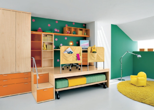 Cool Furniture For Kids Rooms