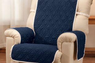 Deluxe Reversible Waterproof Recliner Chair Cover - Easy Comforts