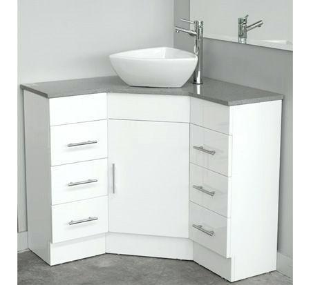 Corner Vanity With Caesarstone Top 900mm X 900mm Cabinets Corner