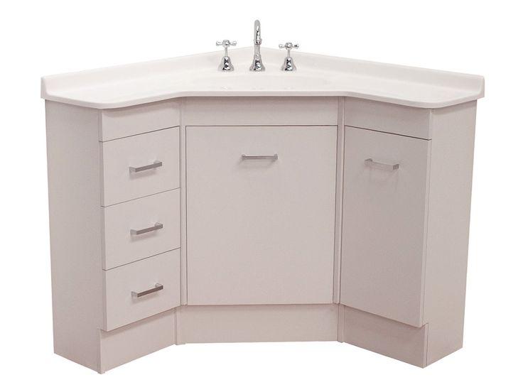 Corner Bathroom Vanity Unit   Home Design Ideas More   corner