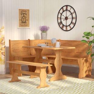 Bench & Breakfast Nook Kitchen & Dining Room Sets You'll Love   Wayfair