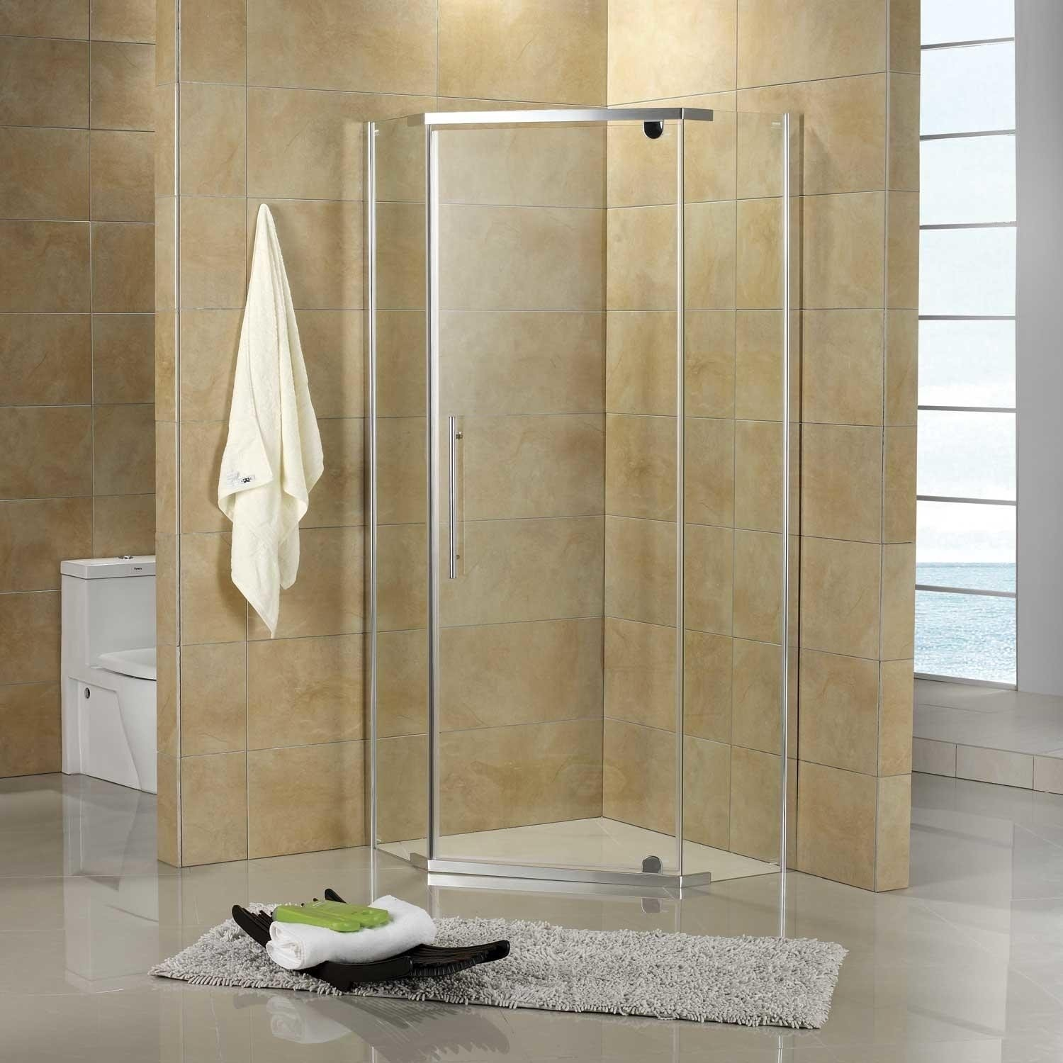 Corner Shower For Small Bathroom - Visual Hunt