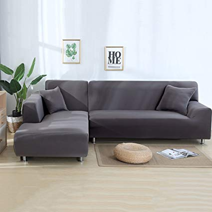 Amazon.com: Eleoption Sectional Sofa Slipcover Couch Cover