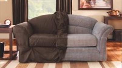 Leather-sofa-cover-diy - Sofa Ideas