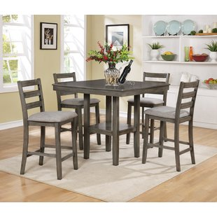 9pc Counter Height Dining Set | Wayfair