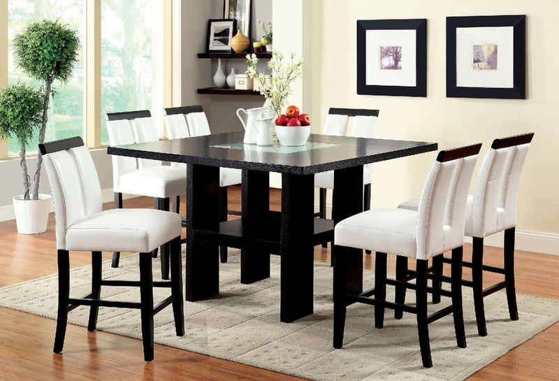Furniture of America | CM3559PT Luminar Counter Height Dining Room