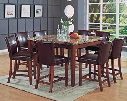 Counter Height Marble Top Dining Sets