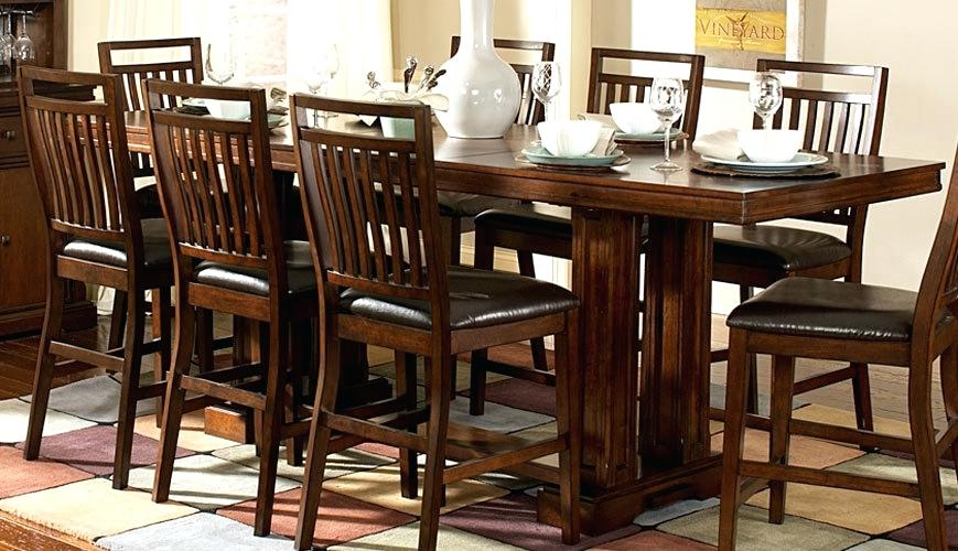 Rectangle Dining Room Set Counter Height Rectangular Table Sets