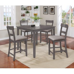 Counter Height Grey Kitchen & Dining Room Sets You'll Love | Wayfair