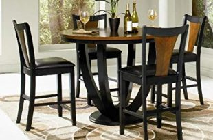Amazon.com - Boyer 5-Pc Counter Height Table Set by Coaster - Table