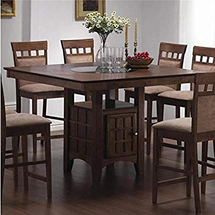 Amazon.com - Mix & Match Counter-Height Dining Table with Storage