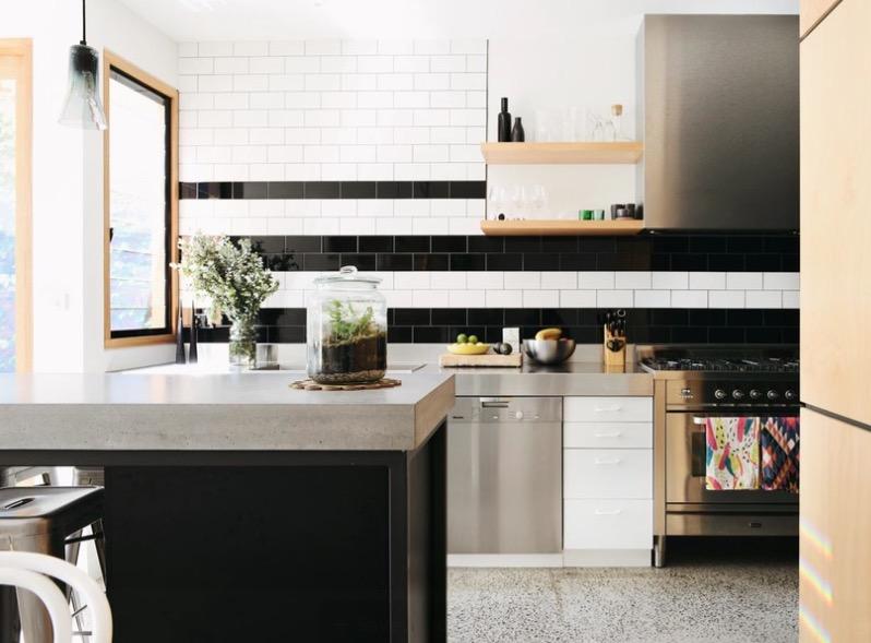 Mesmerizing and stylish countertops kitchen cabinet modern design