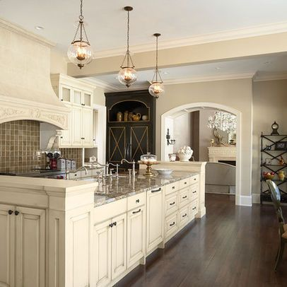 Kitchens With Cream Colored Cabinets Design, Pictures, Remodel