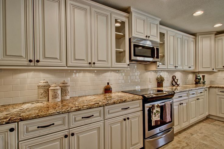 Gorgeous 50 Inspiring Cream Colored Kitchen Cabinets Decoru2026 | The