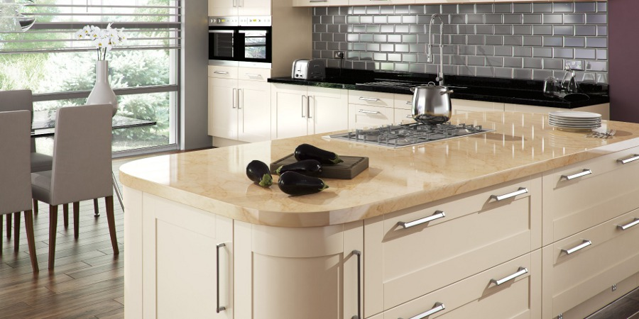 What Granite Colors Suits for Cream Kitchens