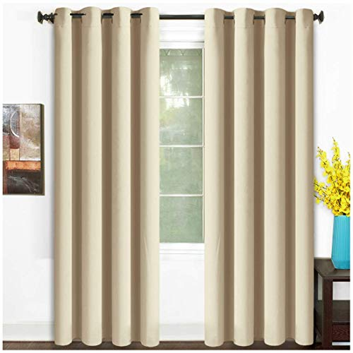 Cream Curtains for Bedroom: Amazon.com