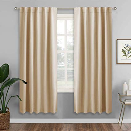Amazon.com: RYB HOME Room Darkening Thermal Blackout Curtains