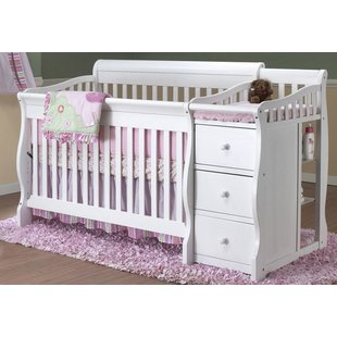 White Crib & Changing Table Combo You'll Love | Wayfair