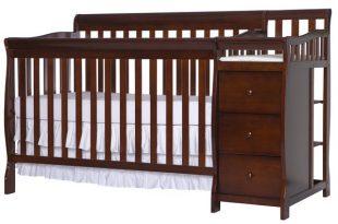 Grey Crib & Changing Table Combo You'll Love | Wayfair