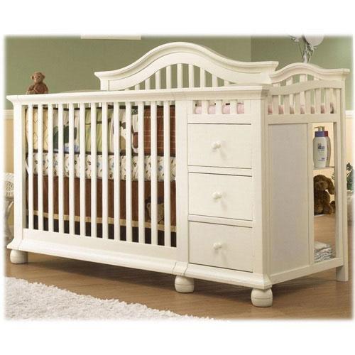Amazon.com : Sorelle Cape Cod Crib and Changer - French White