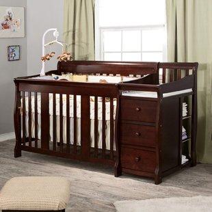 Crib & Changing Table Combo