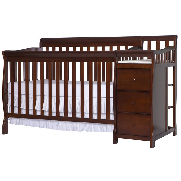 Crib With Changing Table And Drawers