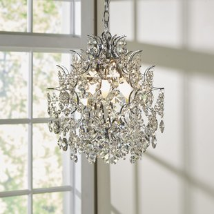 Colored Crystal Chandelier | Wayfair