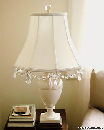 Crystal Garland | Beading Crafts, Jewelry, FUN | Lampshade