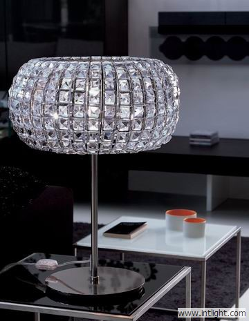 Crystal Lamp Shades For Table Lamps - Table Design Ideas