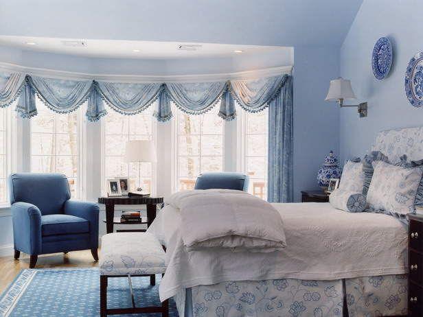 blue teen girl room | Curtains Design for Teen Girls Room Ideas teen
