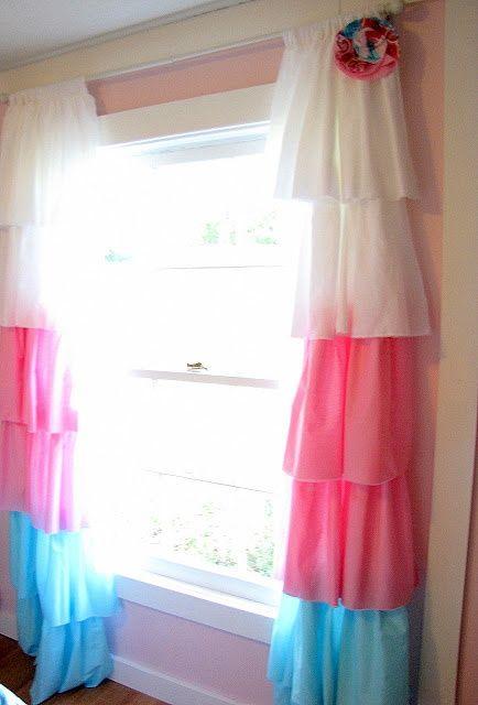 25 Adorable DIY Kids Curtains | Kids Bedroom Ideas | Girls bedroom