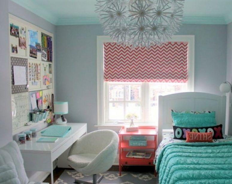 Fresh Bright Window With Curtain Pink Fur Rugs Small Teenage Girl