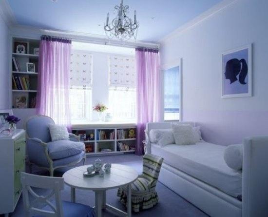 Teenage Girls Bedroom Curtain Decorating Ideas Model Shop Curtains