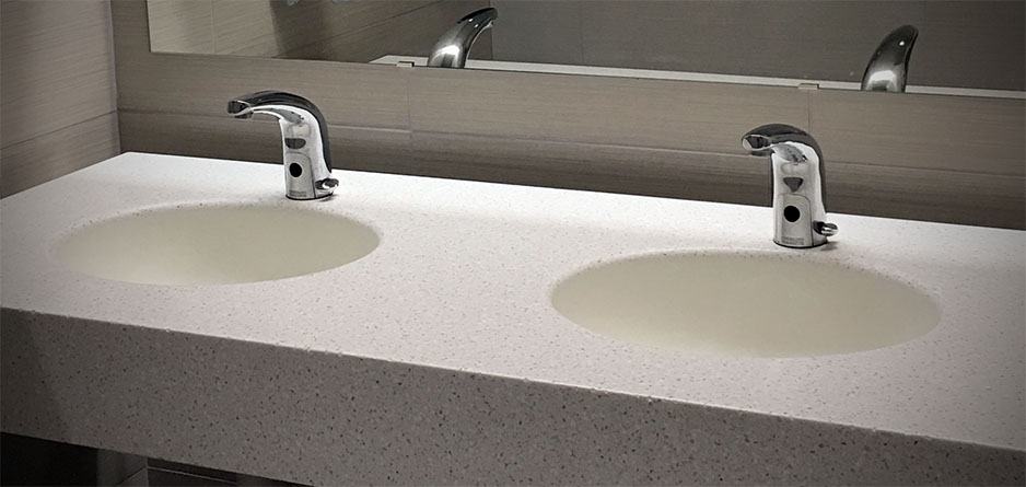 Corian® Vanity Tops | Bathroom Vanity Tops with Sinks | Bathroom