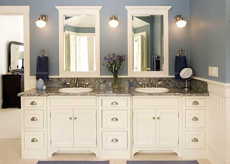 25 White Bathroom Cabinets Ideas | Dream Home | Custom bathroom