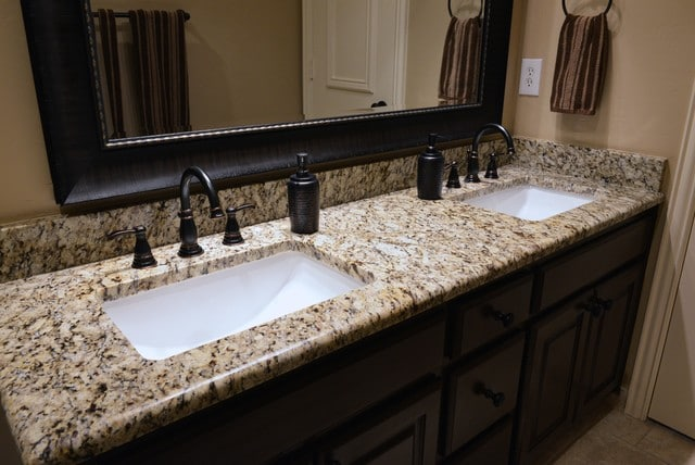 Custom Bathroom Countertops With Sink